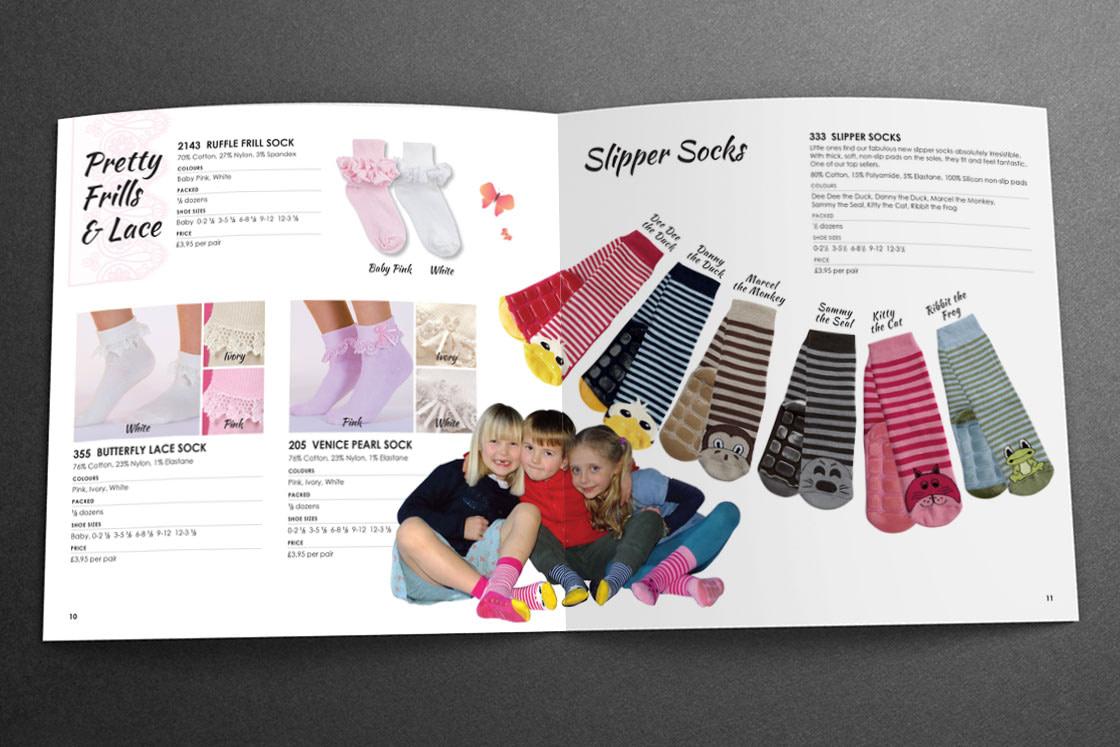 Country Kids Sales Brochure | Slipper Socks