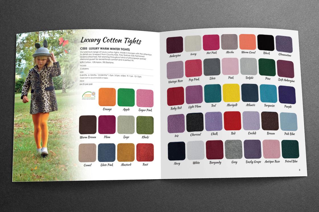 Country Kids Sales Brochure | Luxury Tights