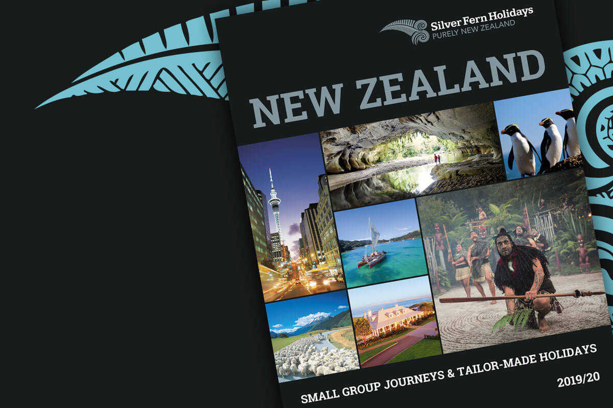Holiday Brochure Design for Silver Fern Holidays