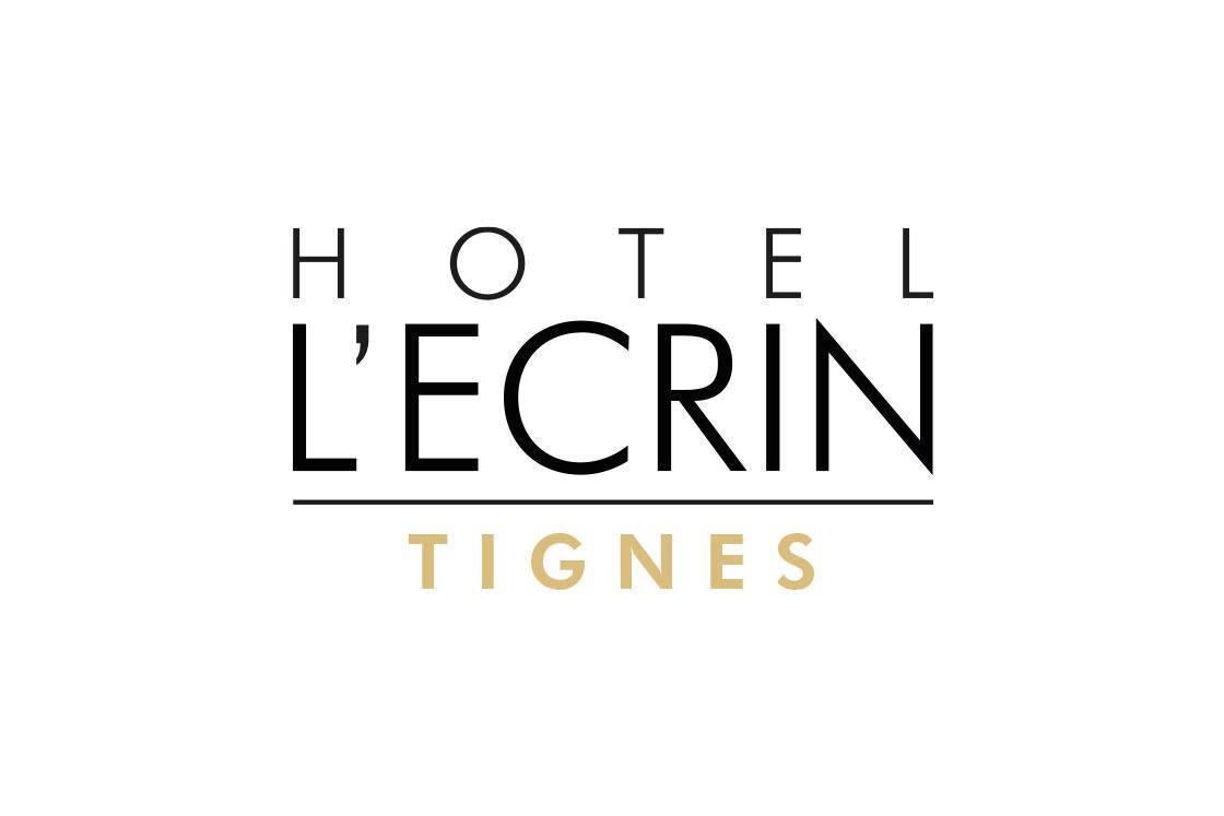 Identité visuelle pour Hôtel L'Ecrin, Tignes