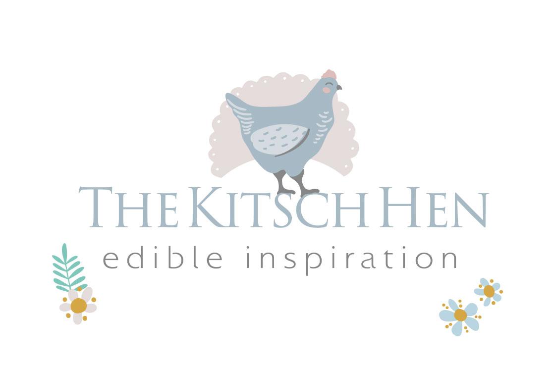 The Kitsch Hen Logo Design