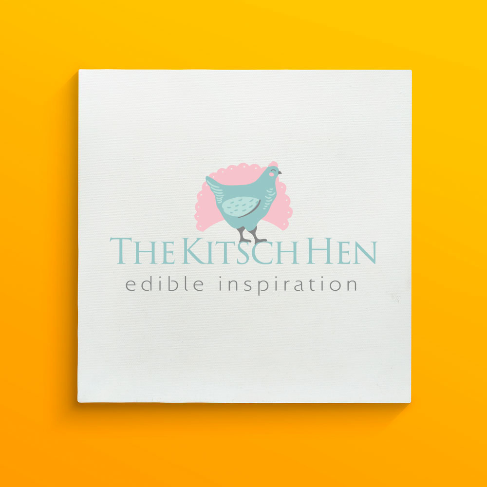 Branding design for The Kitsch Hen