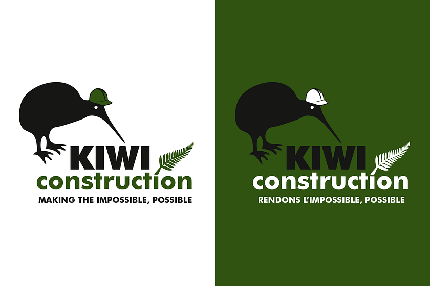 New logo for Kiwi Construction