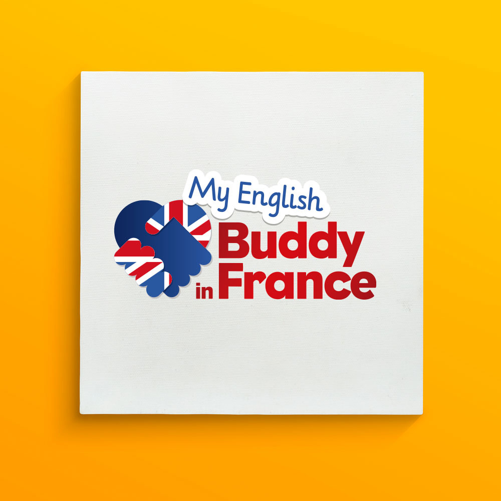 Logo creation for My English Buddy in France