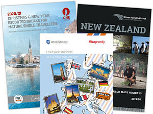 Graphic Design for Travel & Tourism sector