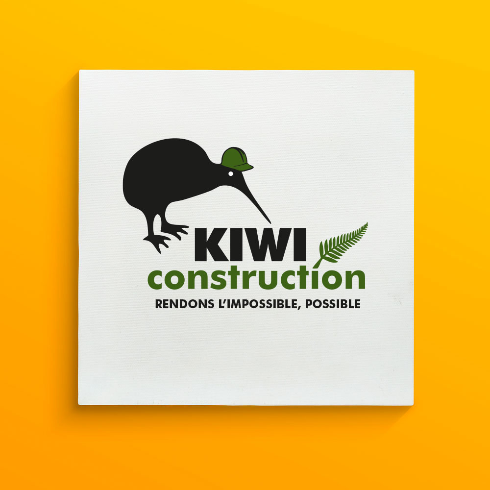 Logo design for Kiwi Construction