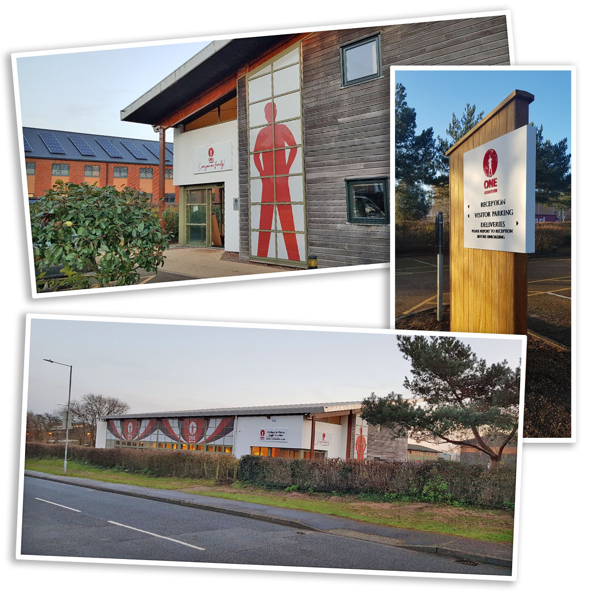Examples of One Traveller office graphics