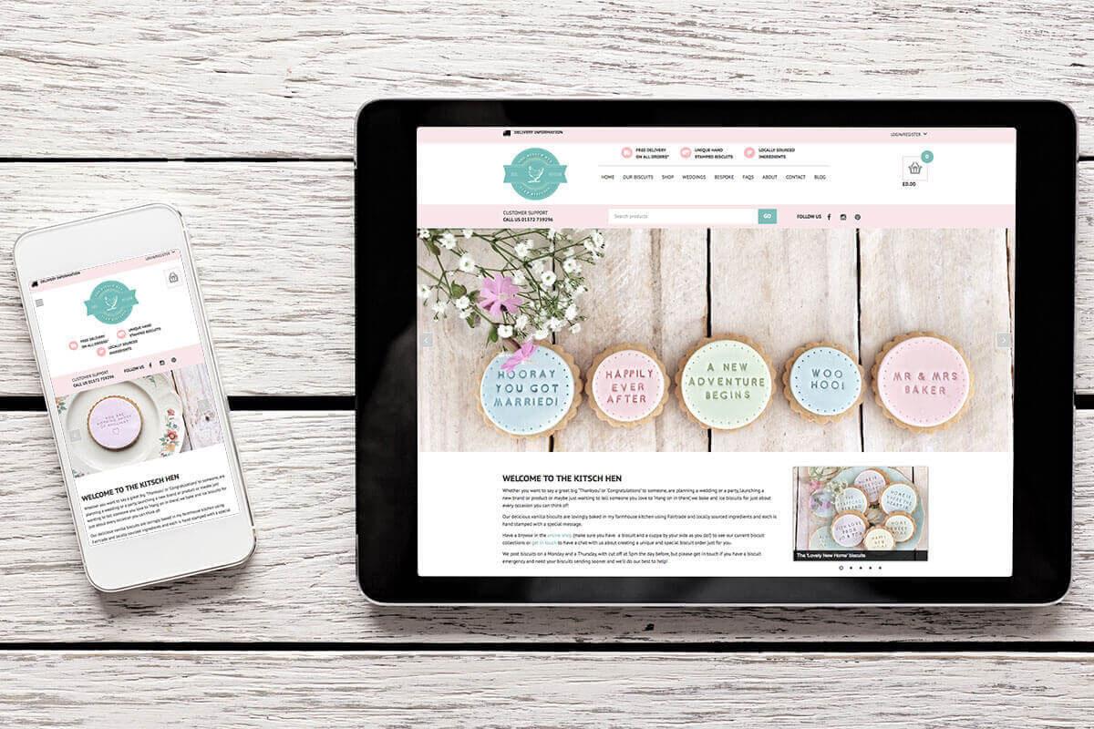 The Kitsch Hen Website