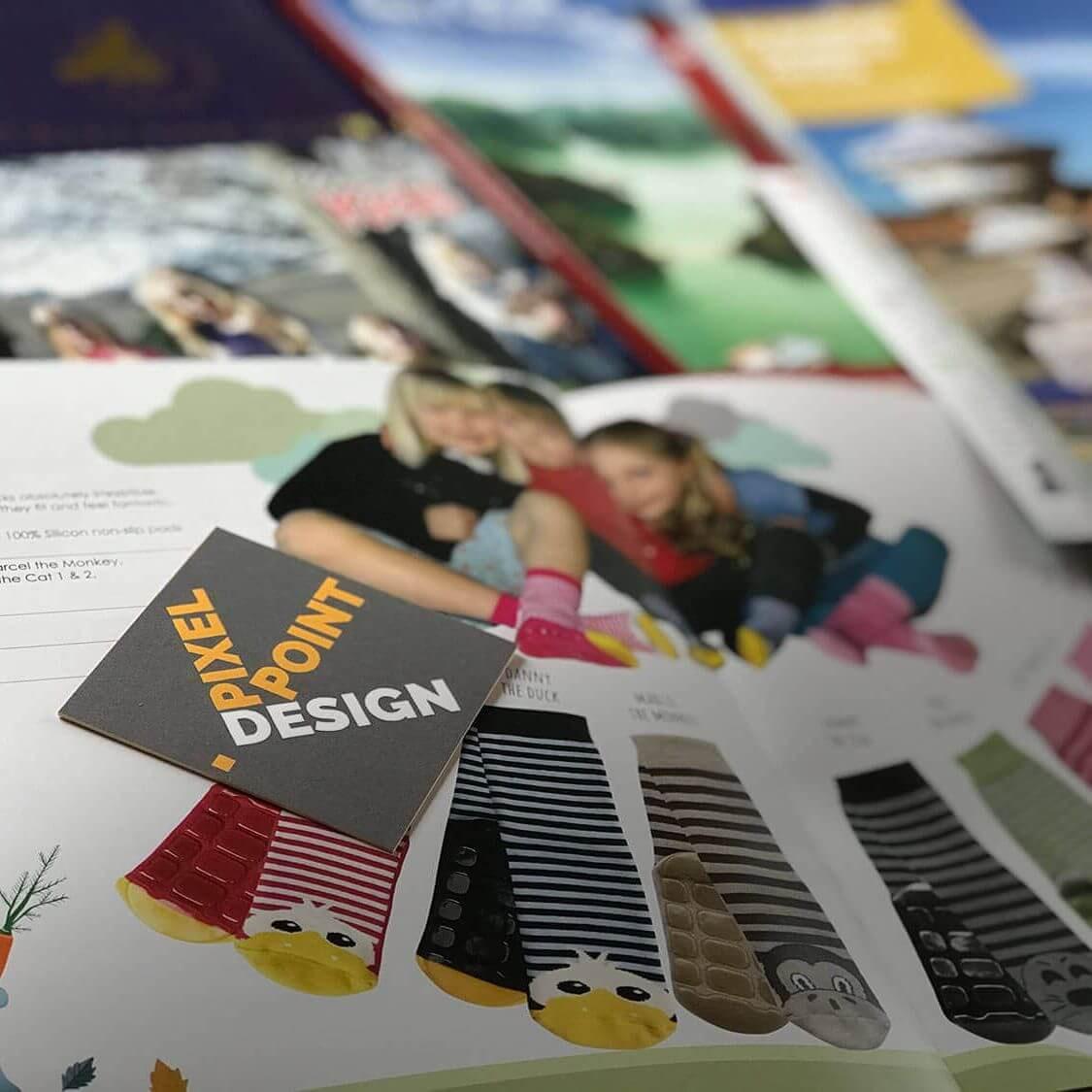 Examples of Pixel Point Design print design
