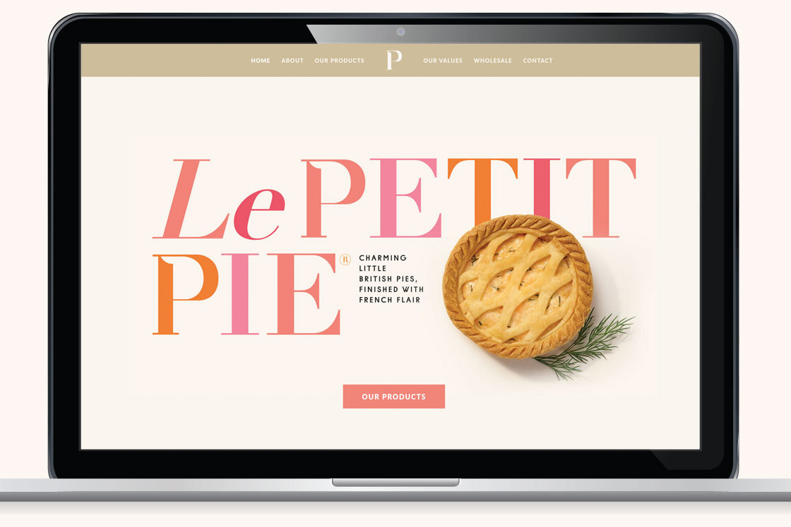 Food & Drink Web Design