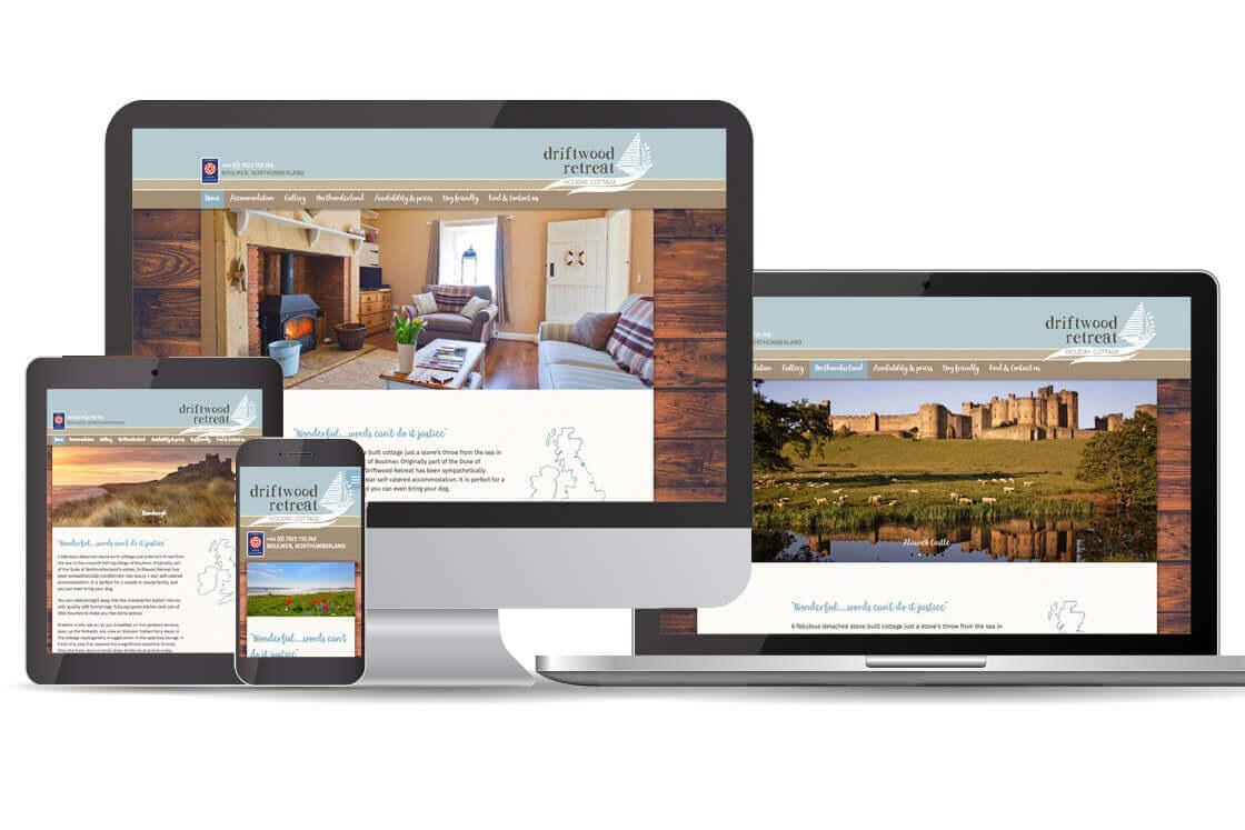 WordPress Holiday Home Website Design