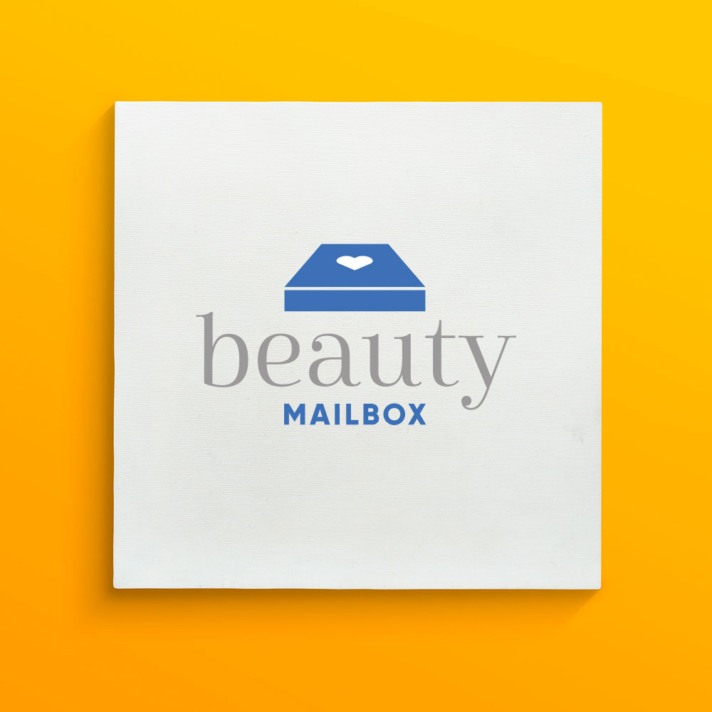 Corporate identity design for Beauty Mailbox
